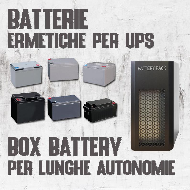 Batterie e Box
